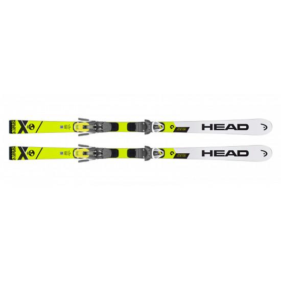Комплект WC Rebels iGS RD Team SW JRP RDX (152-173) + FREEFLEX EVO 11 BRAKE 85 [D] (314008+100736) (горные лыжи+крепления гл) white/neon yellow