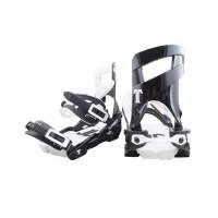 Крепления для сноуборда TECHNINE SLUGGER OG BINDING SINGLE SCRUB BLACK/WHITE F19_O